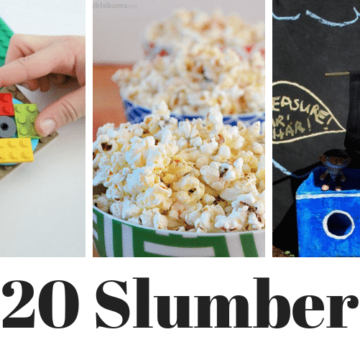 Slumber party ideas for boys