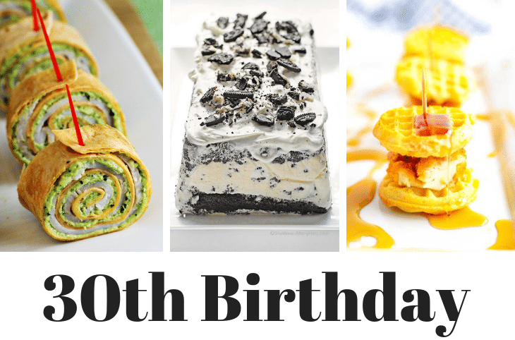 30th birthday party ideas for men