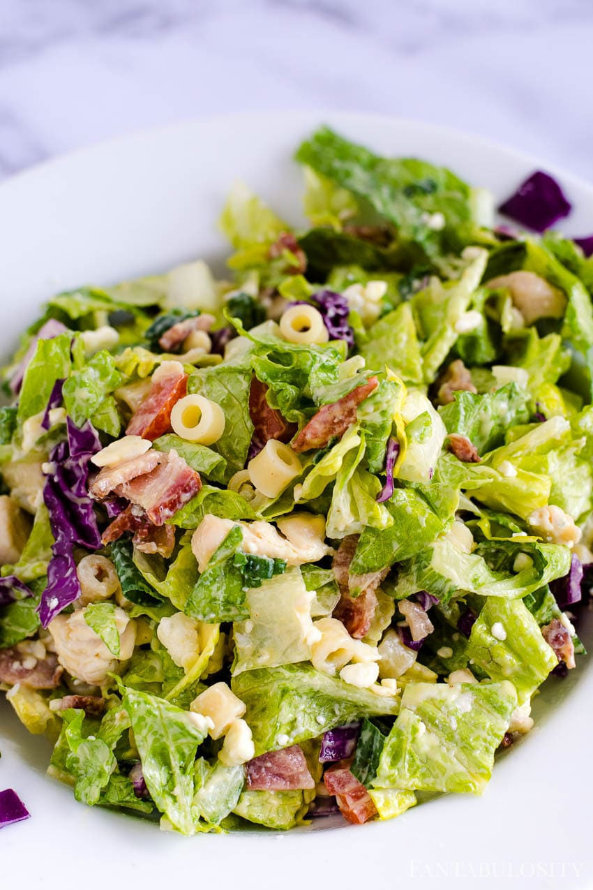 Italian Chopped Salad Recipe like from Portillo's or Giordanos
