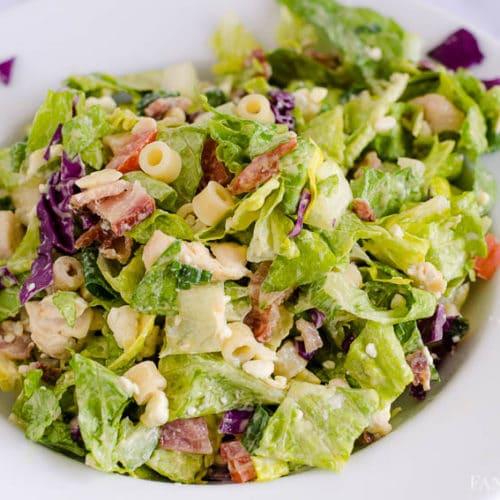 Italian Chopped Salad Recipe like at Portillo's and Giordanos