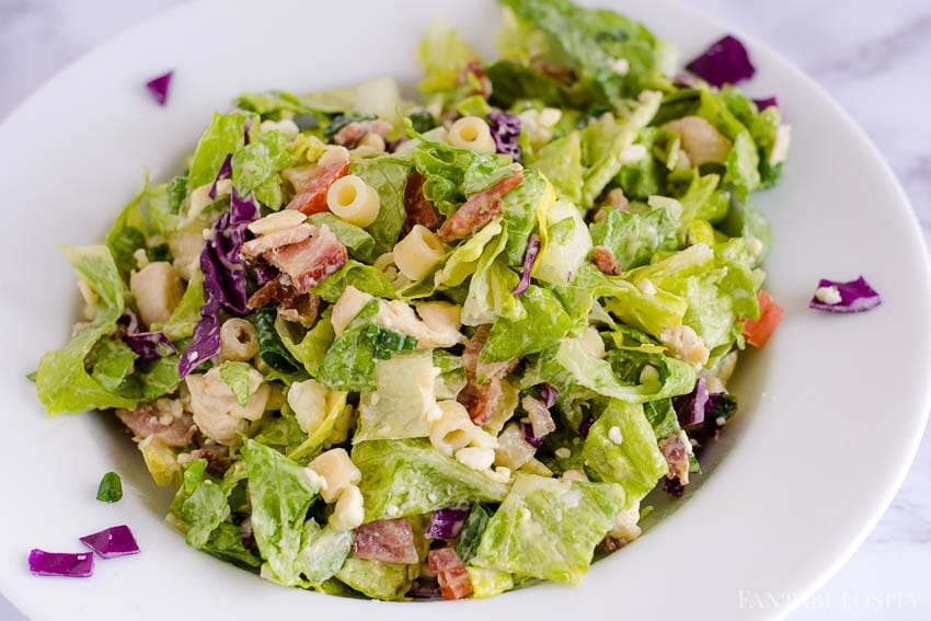 Italian Chopped Salad Recipe like at Portillo's and Giordanos