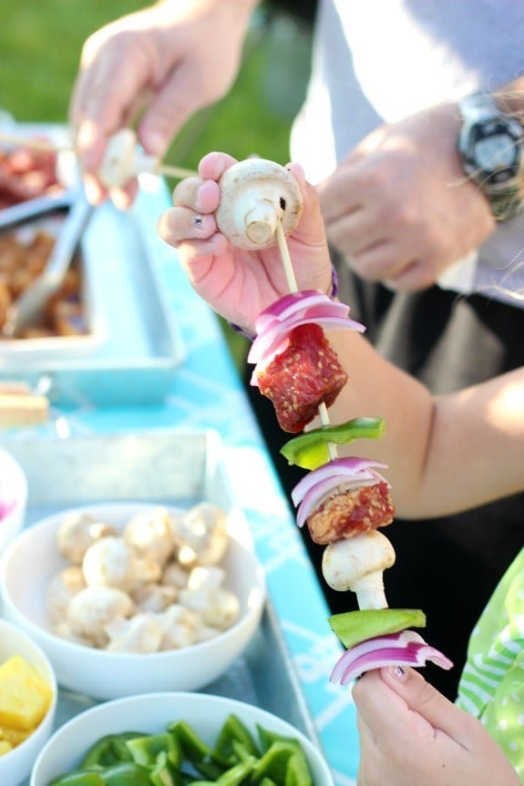 Kebab party ideas