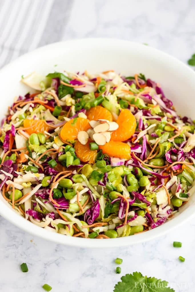 Chopped Asian Salad with mandarin oranges