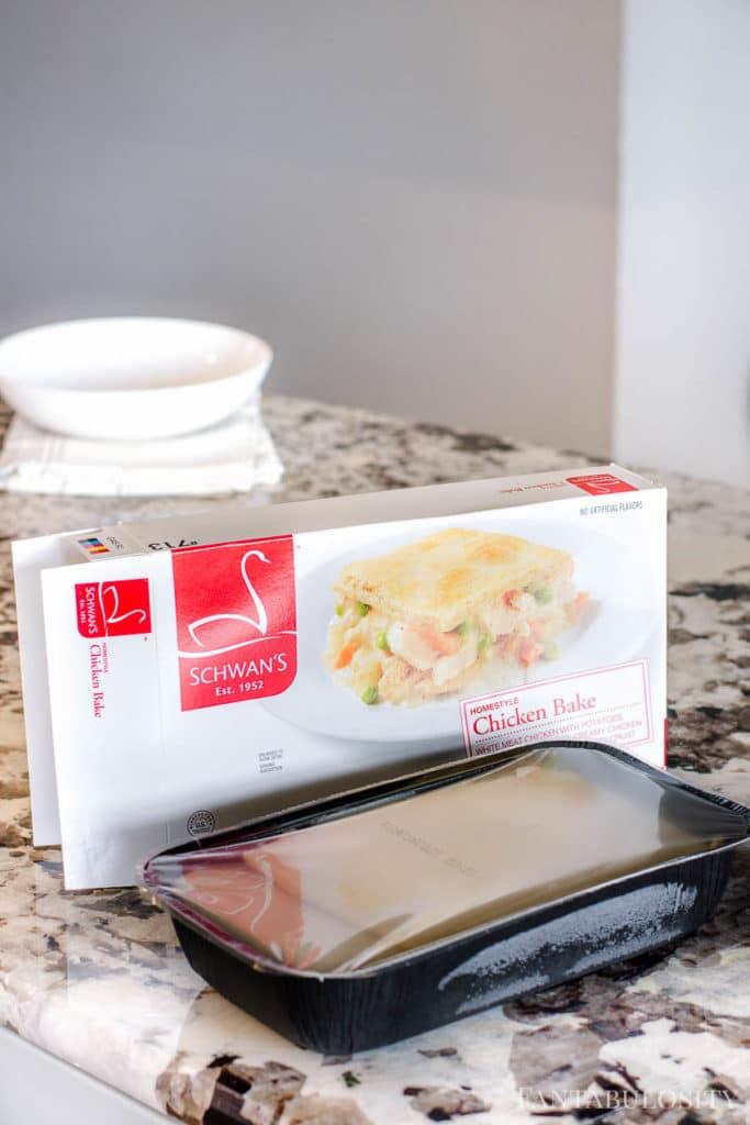 Schwan's Food Delivery Homestyle Chicken Bake frozen dinner