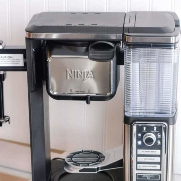 How to clean ninja coffee bar maker and turn the clean light off