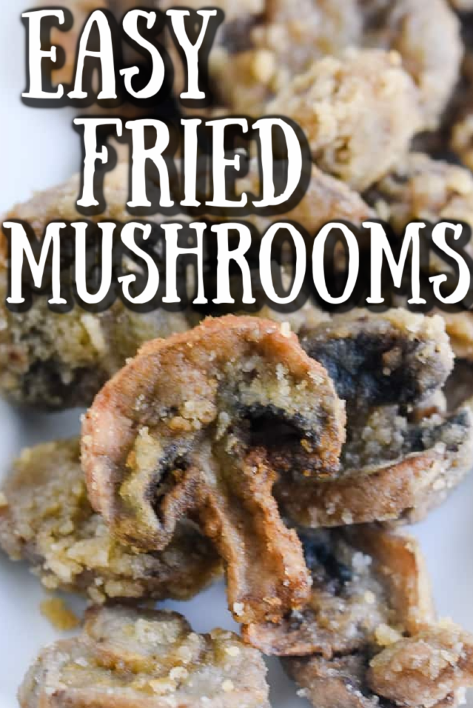 easy fried mushrooms