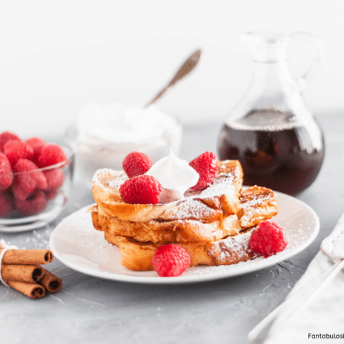 Become the star of brunch with this Brioche French Toast. Simple ingredients and just a few minutes yields a sweet, buttery breakfast main dish everyone will love.