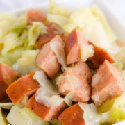 Kielbasa and Cabbage in the Instant Pot
