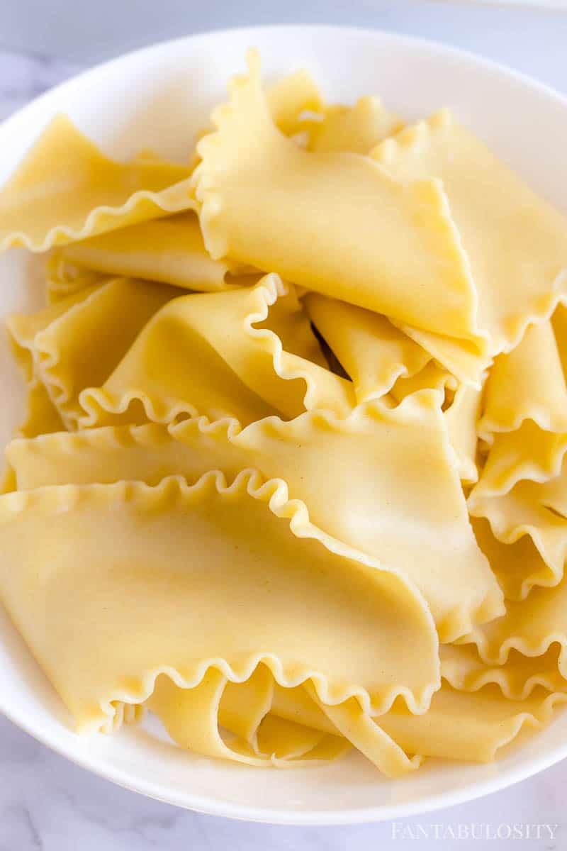 Cooked Lasagna Noodles