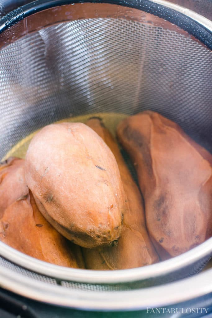 Cooked Sweet Potatoes in an Instant Pot