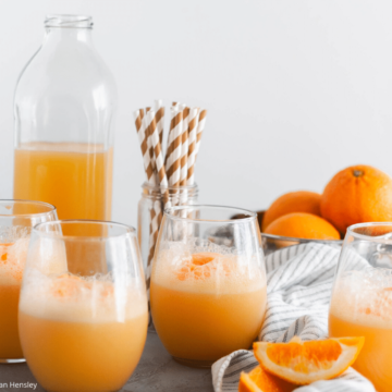 This 3 ingredient Orange Sherbet Punch is perfect for all your upcoming holiday parties. Whip up a batch and watch it disappear.