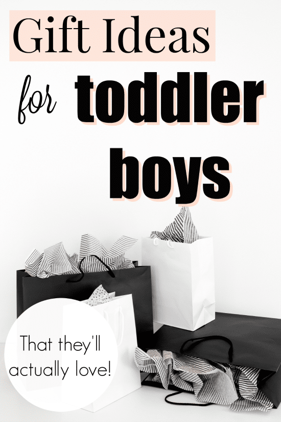 Gift Ideas for Toddler Boys that they'll actually love!