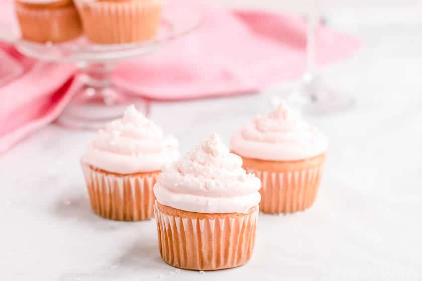 Pink Champagne Cupcakes Recipes