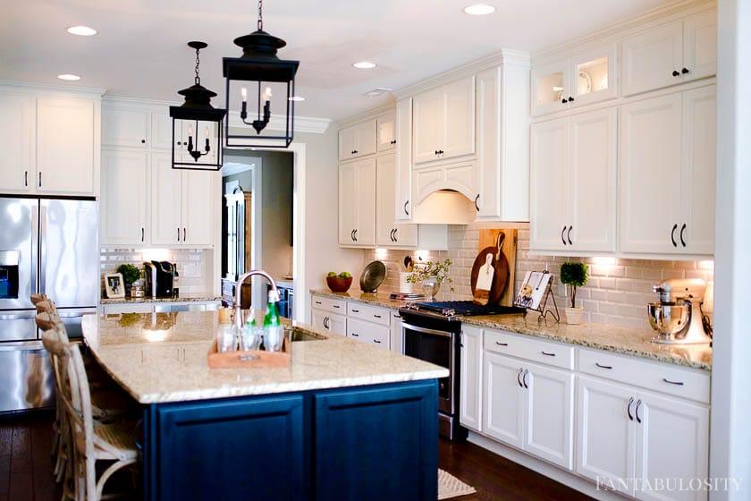 White open kitchen