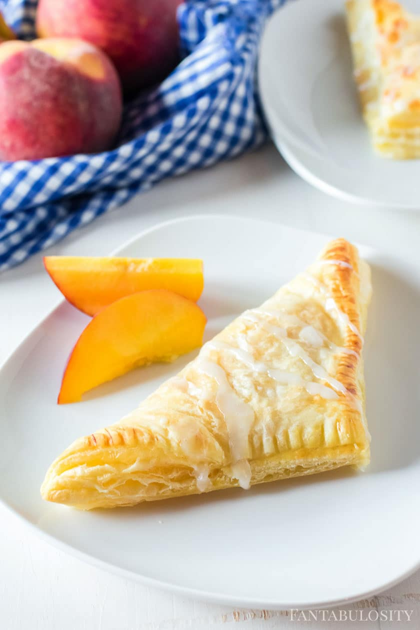 simple turnovers with pie filling
