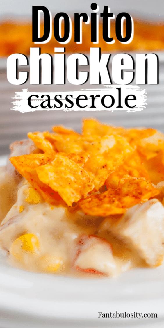 Dorito Chicken Casserole - Easy recipe