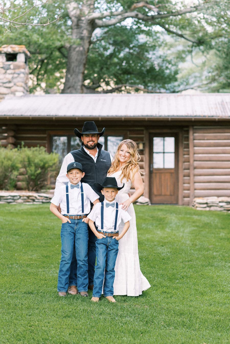 What is Joy - Family Photo on ranch in Montana