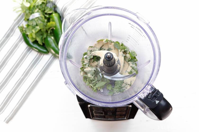 Add garlic pepper in to dip