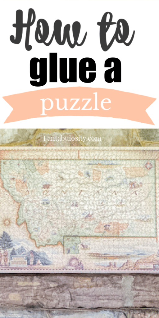 How to Glue a Puzzle