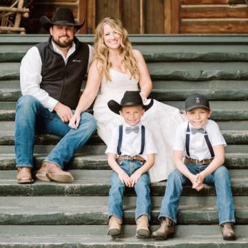 Family Photo Montana