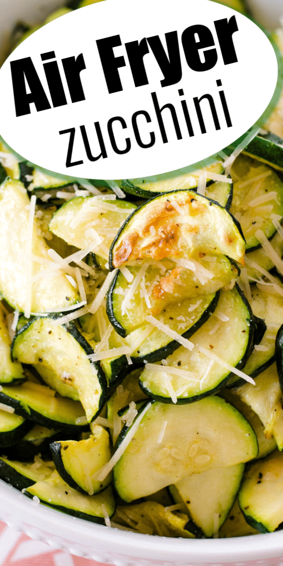 Air Fryer Zucchini recipe - chips or fries