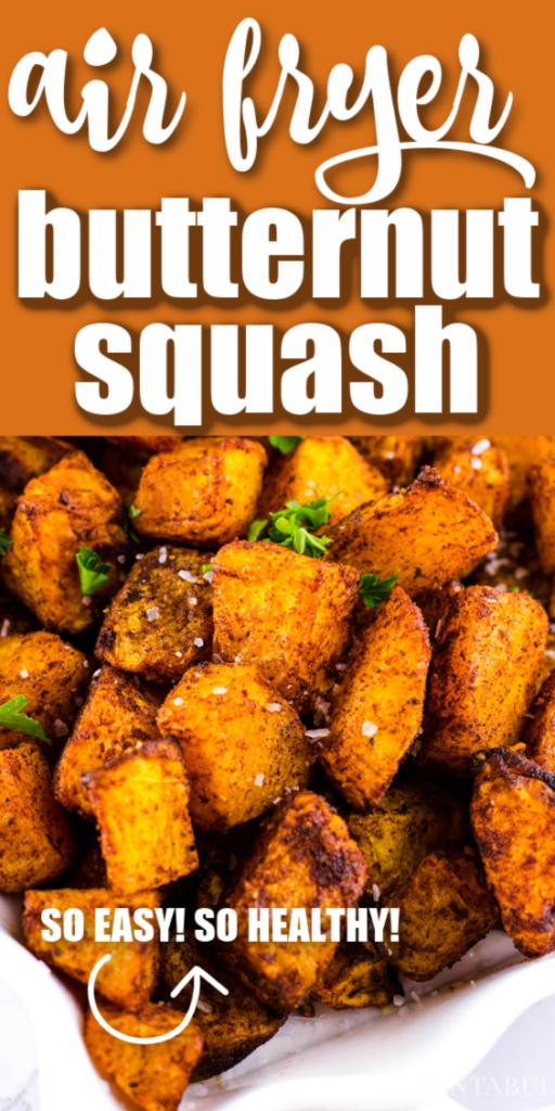 air fryer butternut squash