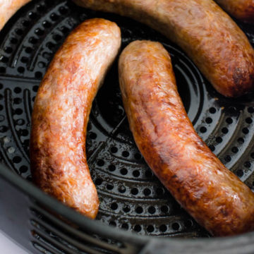 Brats in the Air Fryer
