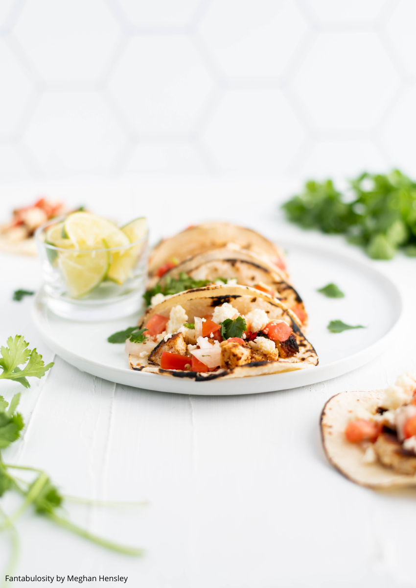 Chicken Street Tacos are easy and quick to prepare yet packed with authentic flavor. Charred corn tortillas, juicy seasoned chicken, pico de gallo and crumbled queso fresco all come together to make the ultimate taco Tuesday feast.