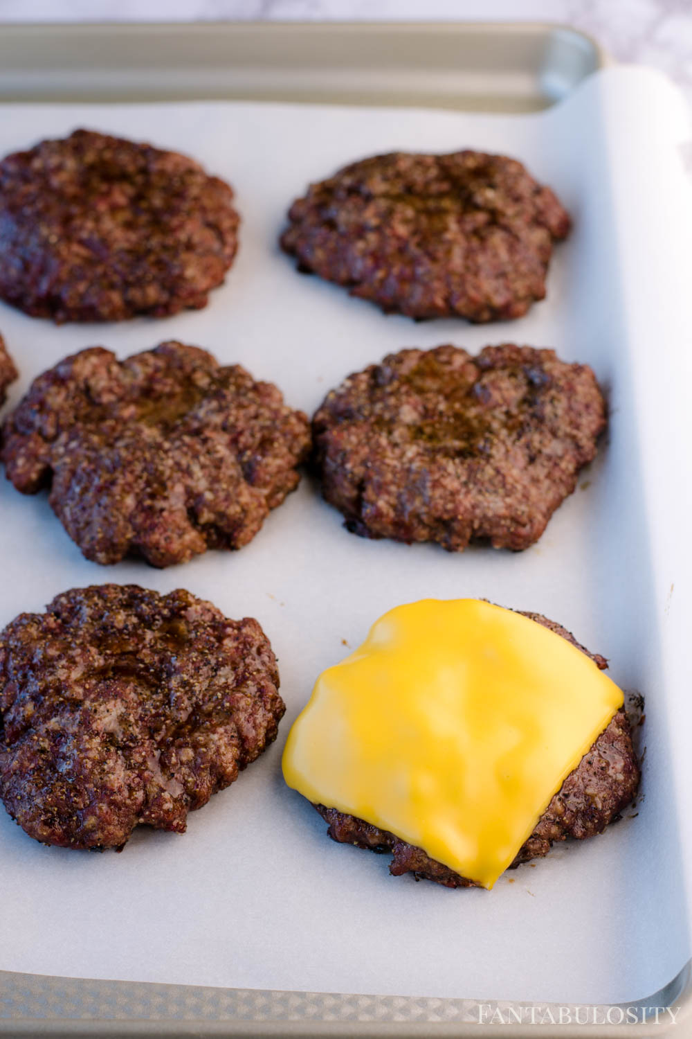 Add cheese to smoked burgers if desired