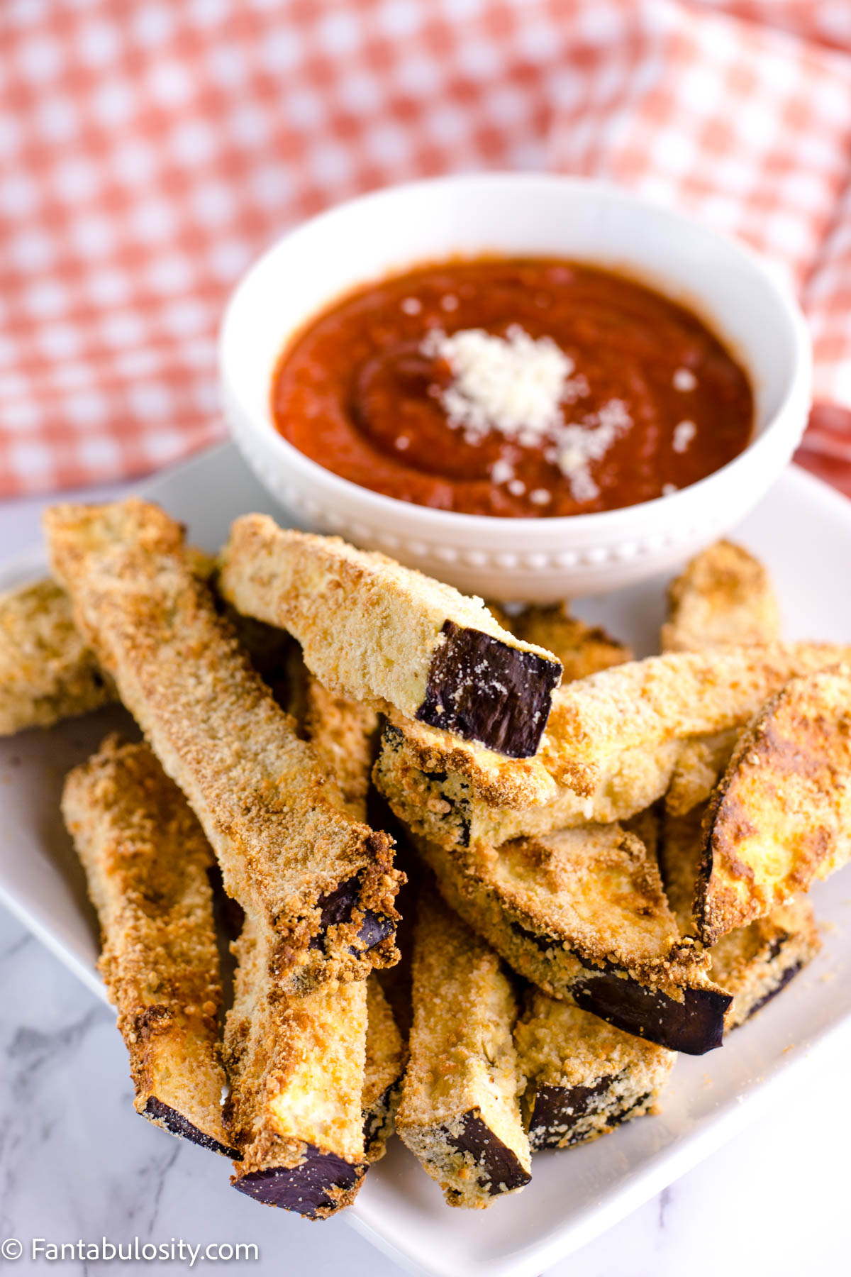 Air Fryer Eggplant Fries
