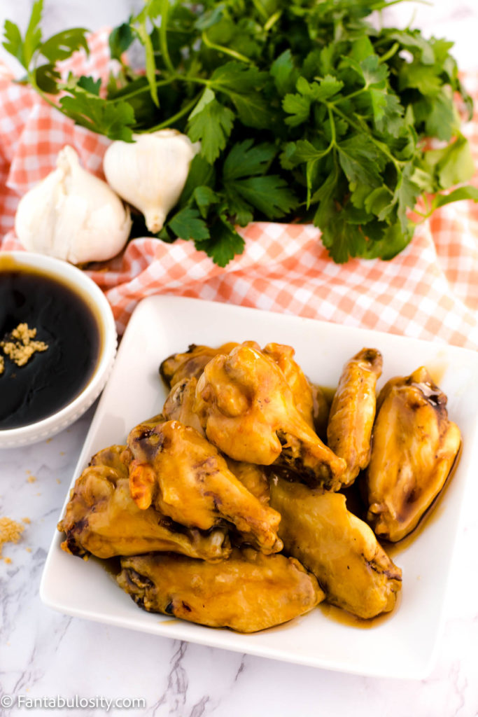 Teriyaki Chicken Wings in the air fryer