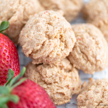 Subtly sweet, perfectly textured and so delicious, these Strawberry Cheesecake Cookies will quickly become a new family favorite.