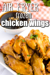 Frozen Chicken Wings Cooked in the Air Fryer