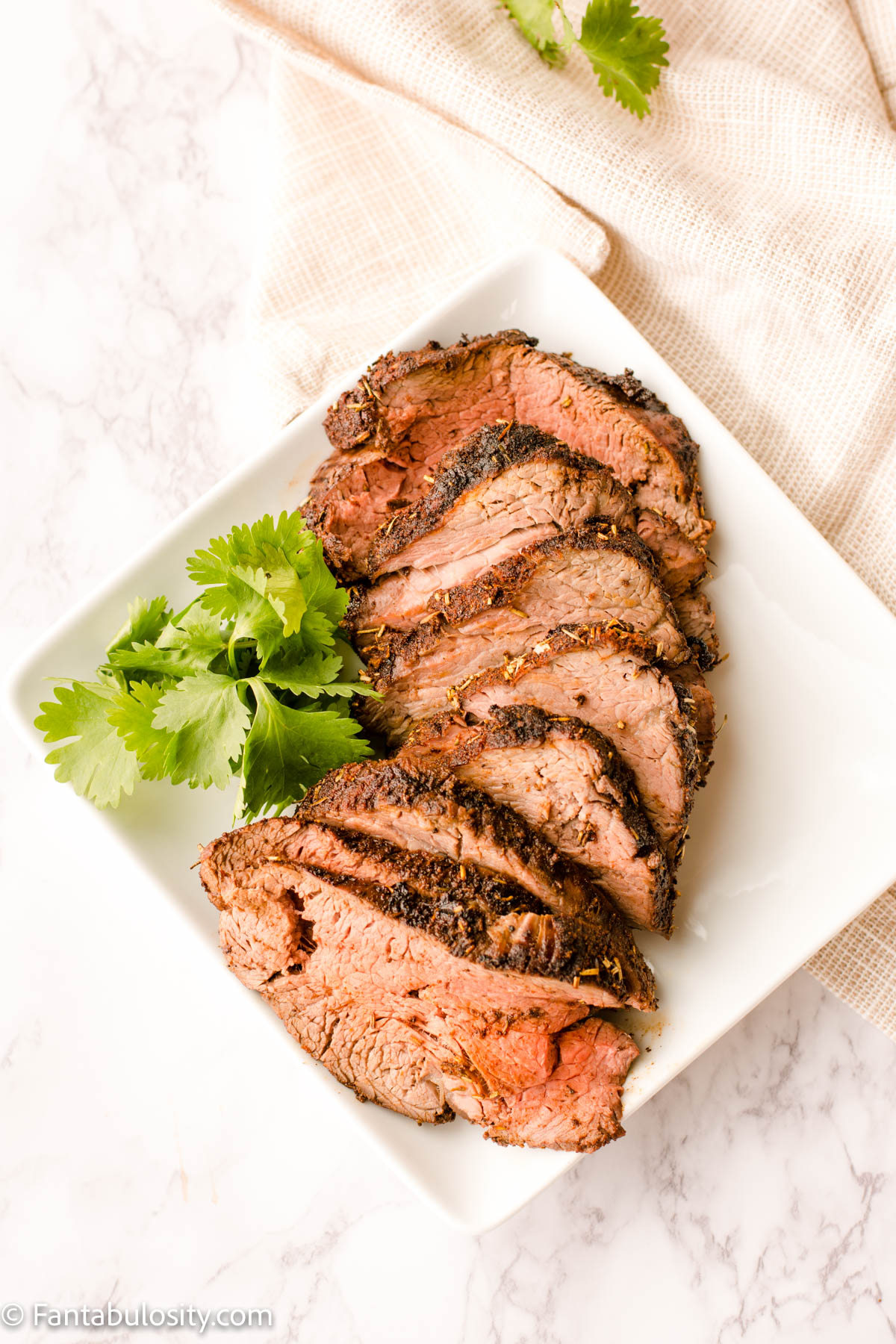 Grilled Beef Tenderloin with Rub