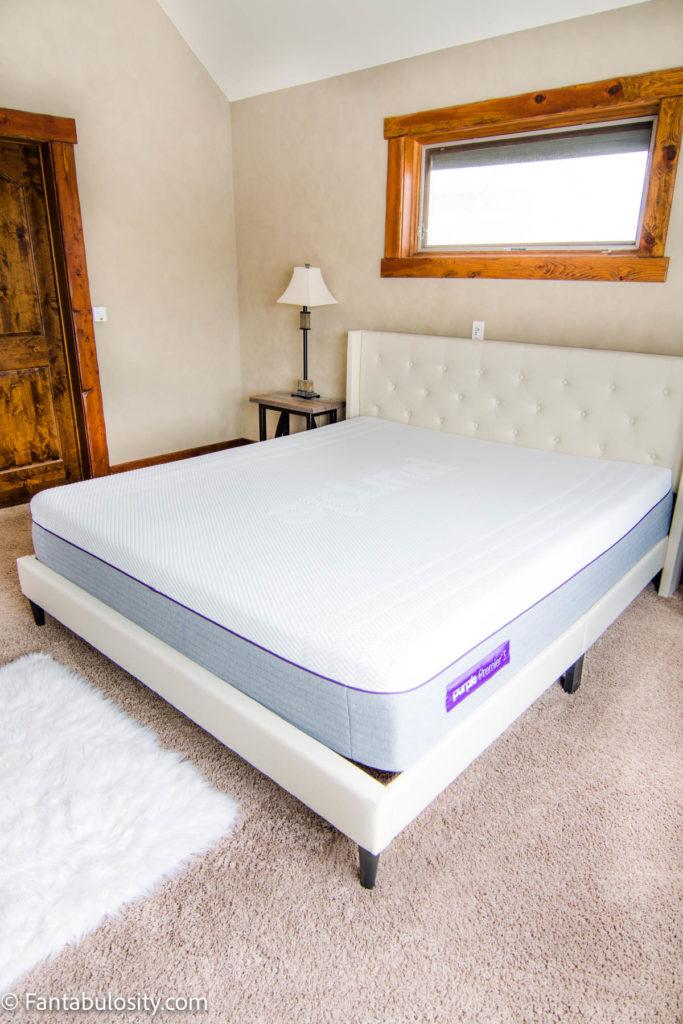 California King Hybrid Purple Mattress Review
