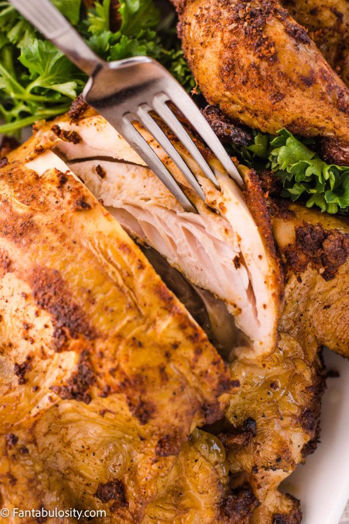 moist smoked cornish hen recipe