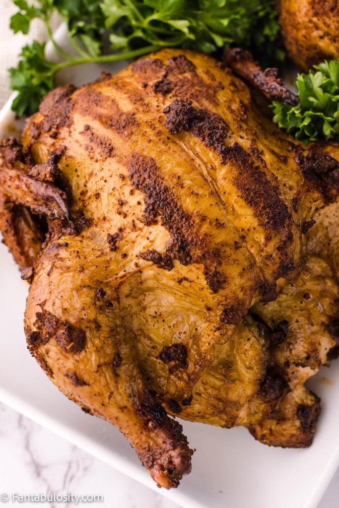 smoked bird recipe