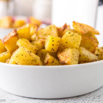 Air fryer breakfast potatoes crispy