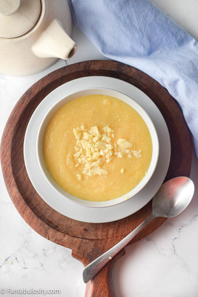 Creamy instant pot polenta recipe