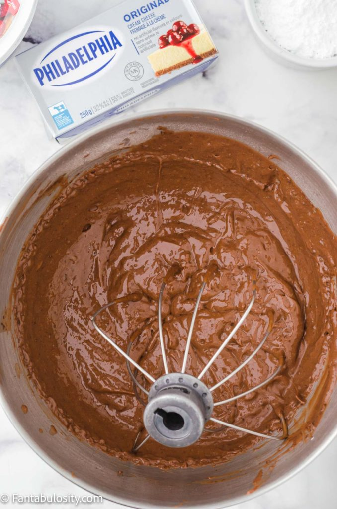 pudding mixture - whisked in large mixing bowl