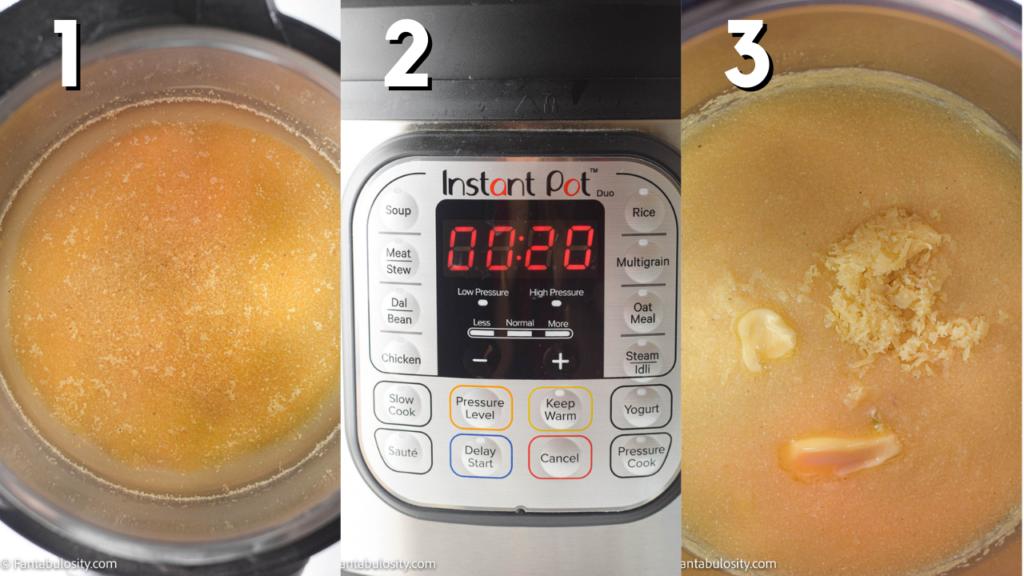 Instant pot polenta recipe