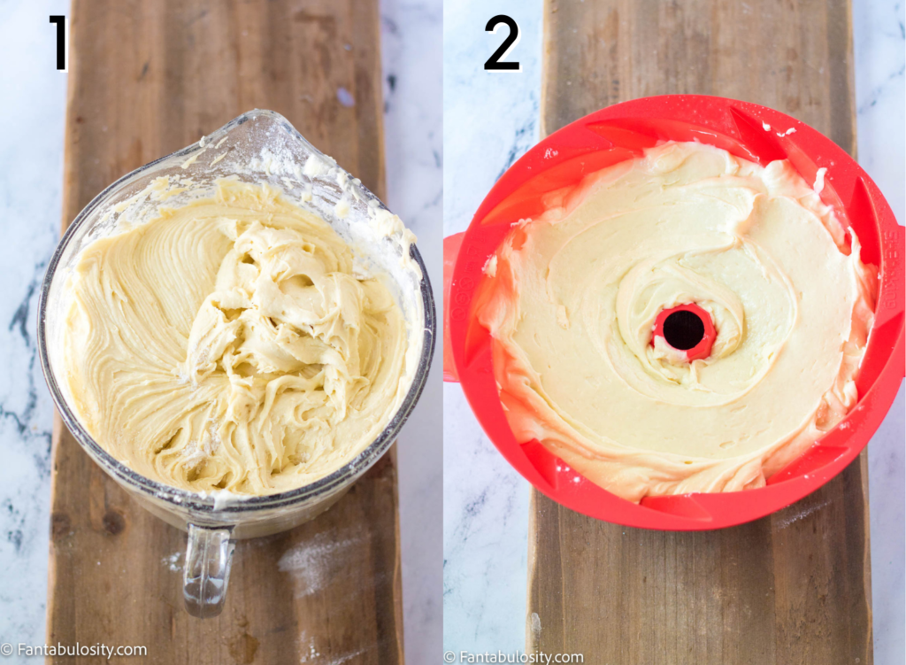 Lemon bundt cake directions