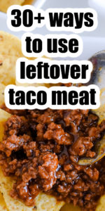 what to do with leftover taco meat