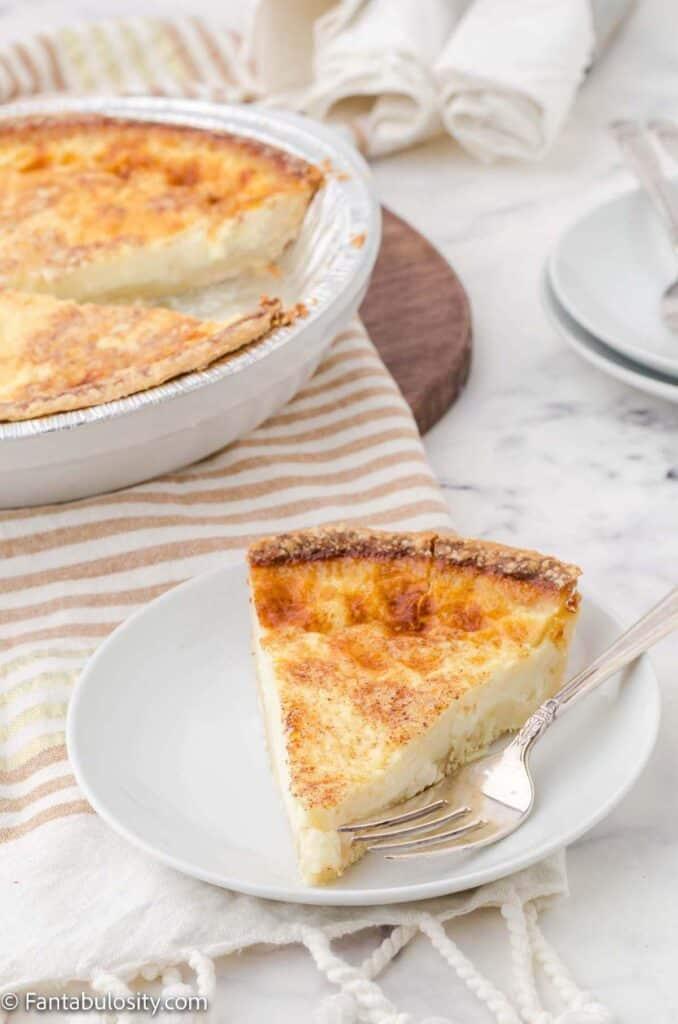 Custard pie recipe from scratch