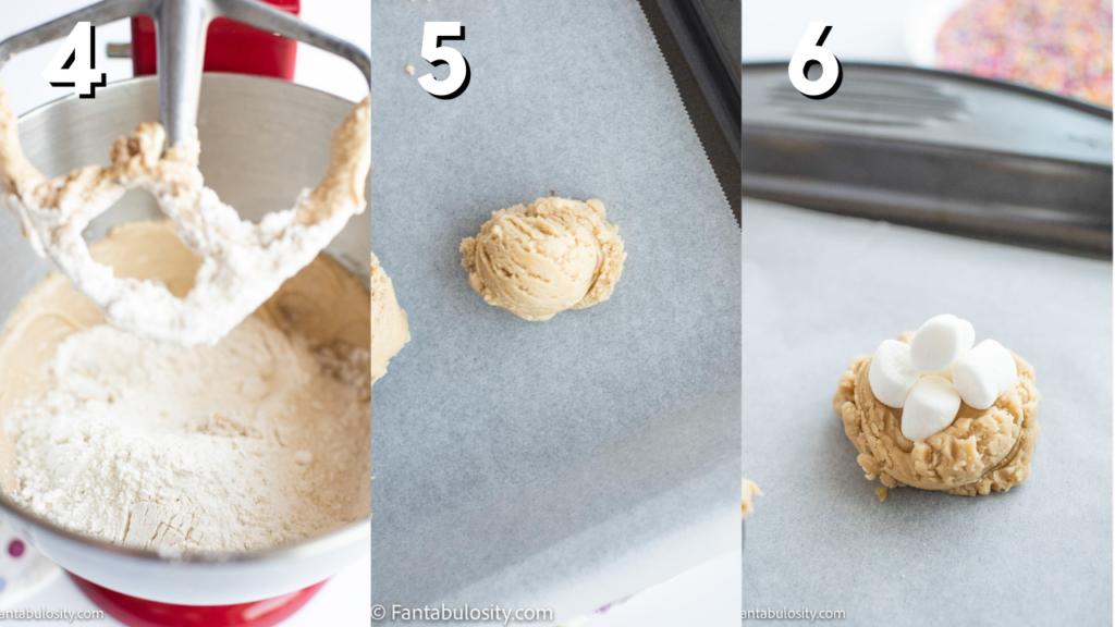 recipe for marshmallow confetti cookies