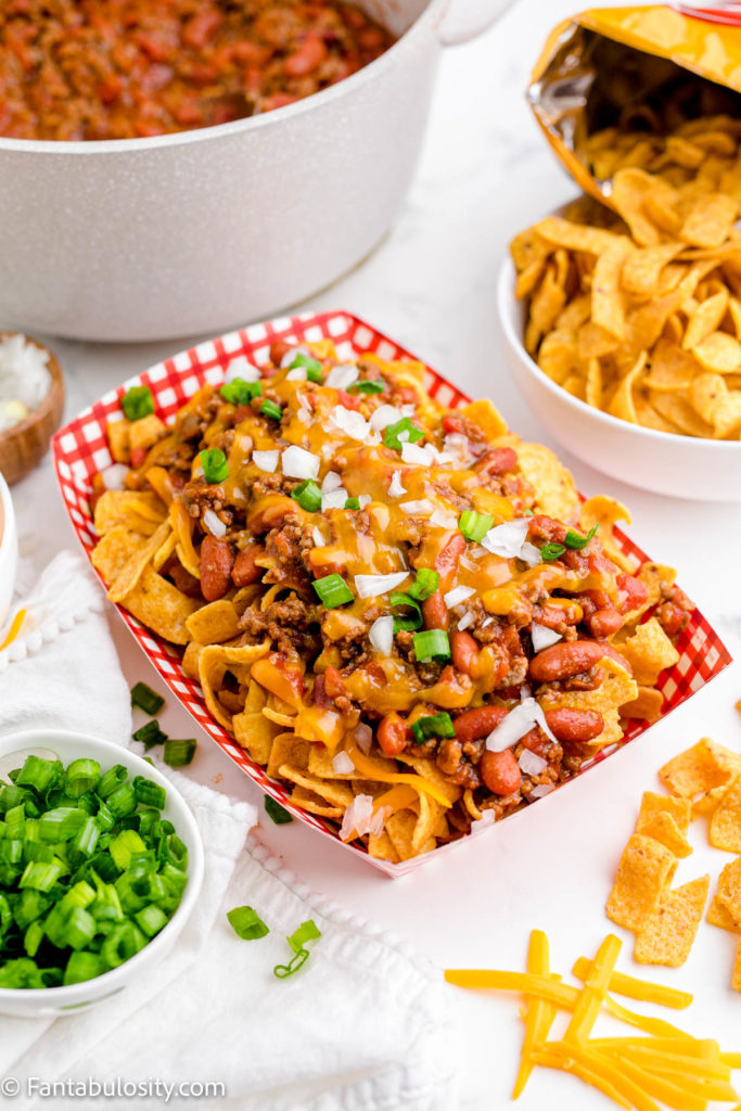 Frito Chili Pie Toppings