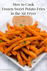 how to cook frozen sweet potato fries