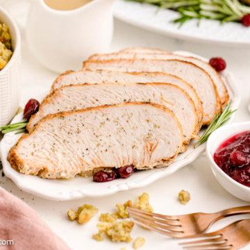 Instant Pot Turkey Breast Sliced