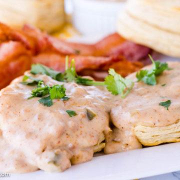 Jalapeno Sausage Gravy