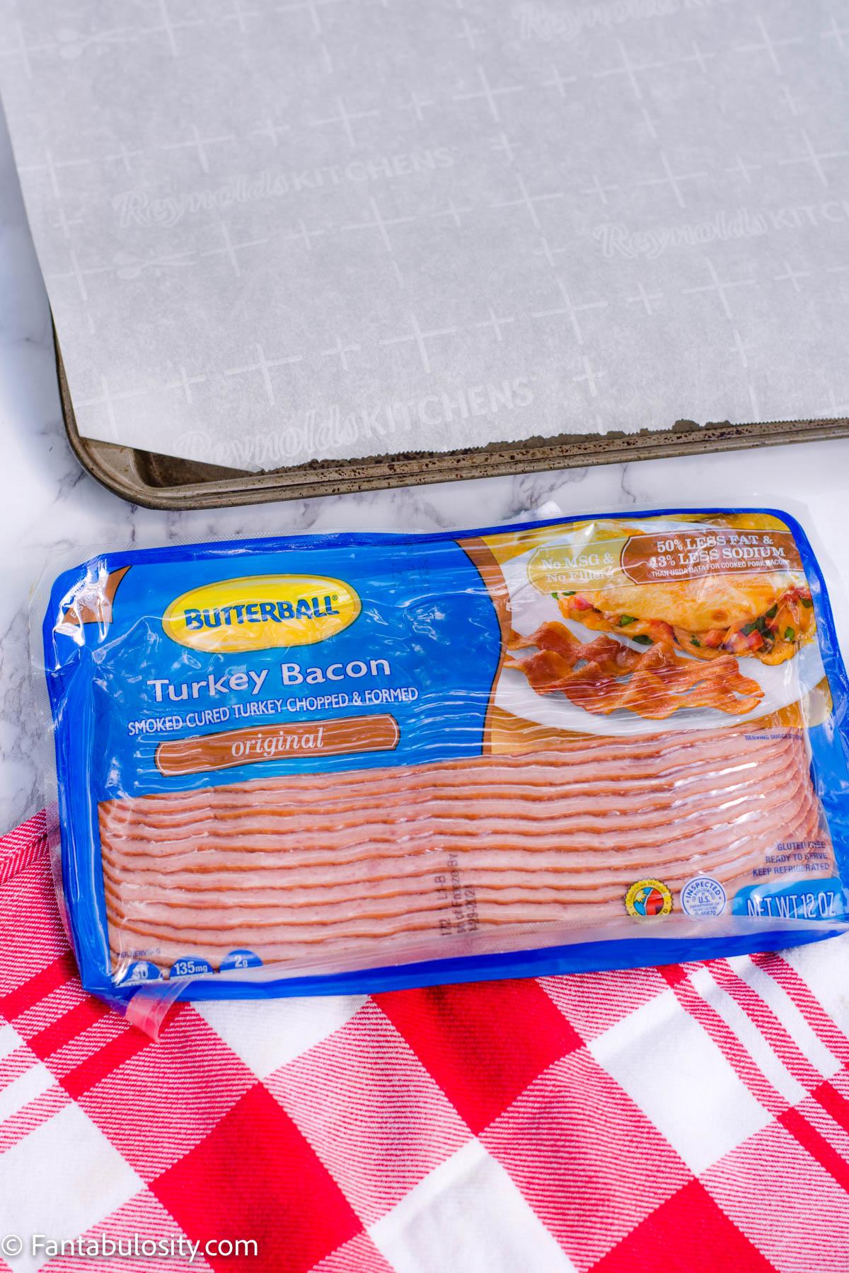 Butterball Turkey Bacon in Package